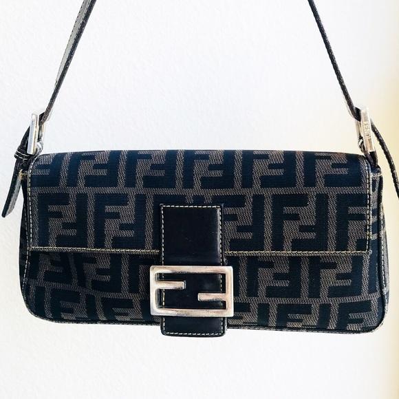 ec4d9e11070a Fendi Handbags - Fendi Vintage Pre 1980 Baguette Purse